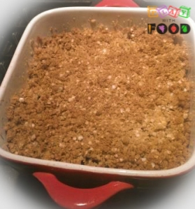 Strawberry & Apple Crumble