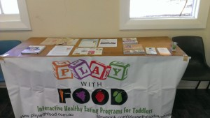 A variety of resources are made available for carers to enhance their play with food experiences.