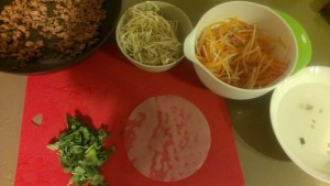 Kohlrabi Cooking: Rice Paper Rolls by Play with Food